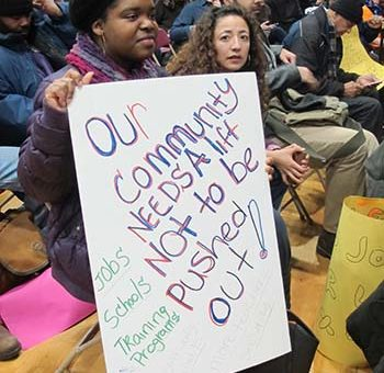 Bronx residents hear about rezoning March 5.