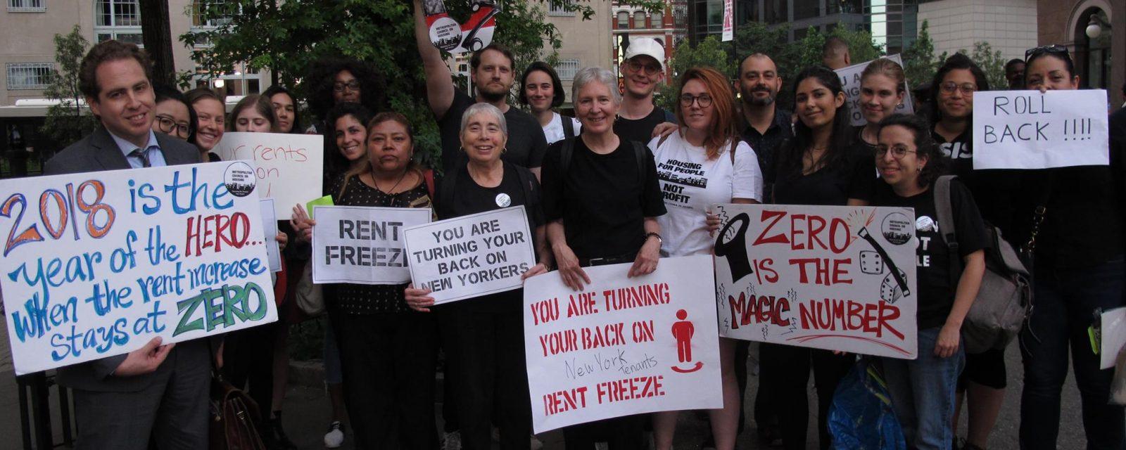 rent justice campaign