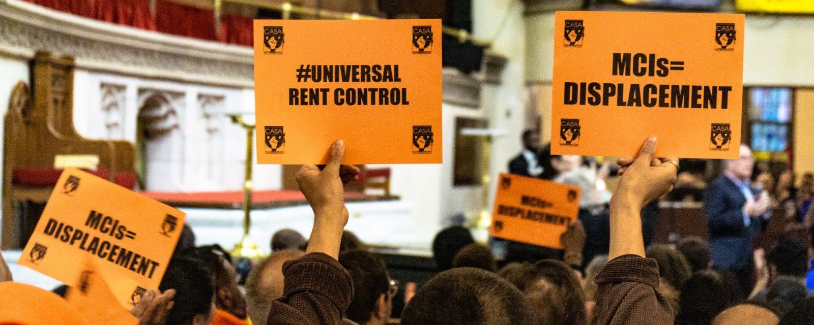 universal rent control campaign