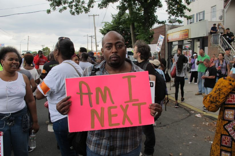 Staten Island's Tompkinsville neighborhood, the latest area rezoned under the city's Mandatory Inclusionary Housing program, was the scene of multiple protests after the police killing of Eric Garner in 2014.
