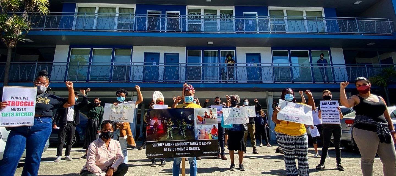 Oakland blockade